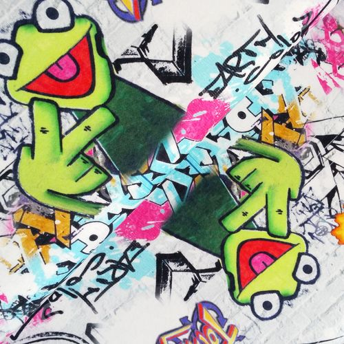 Sweat * Graffiti Frosch * Kermit