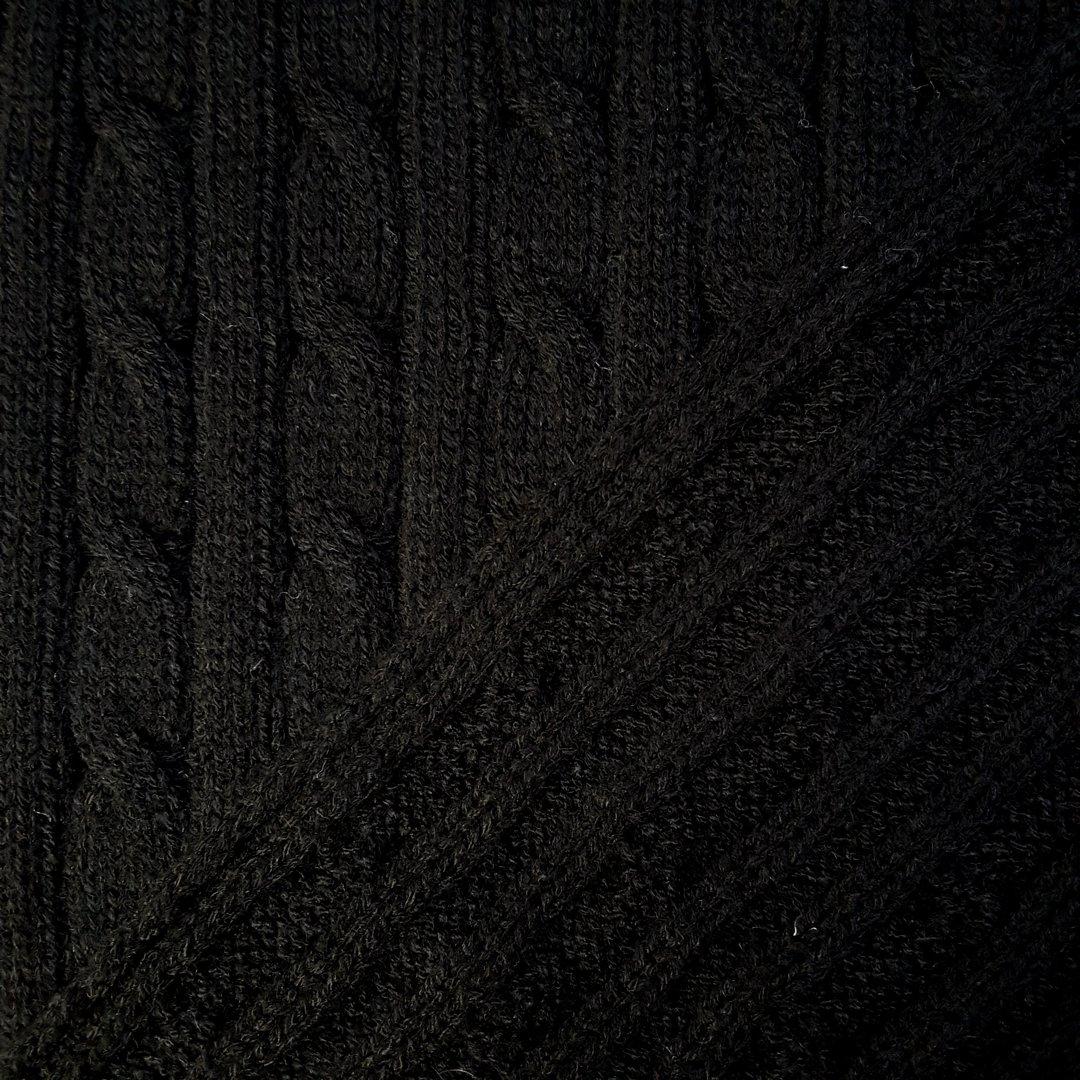 grobstrick schwarz tr ume aus stoff. Black Bedroom Furniture Sets. Home Design Ideas