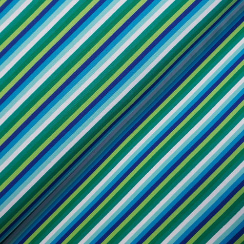 Jersey * bunte Ringel * limette royal * small stripes