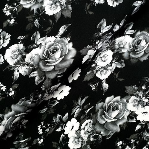 Jersey * Black Roses * Digitaldruck