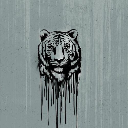 "Jersey * Panel ""Wild Tiger"" by Thorsten Berger"